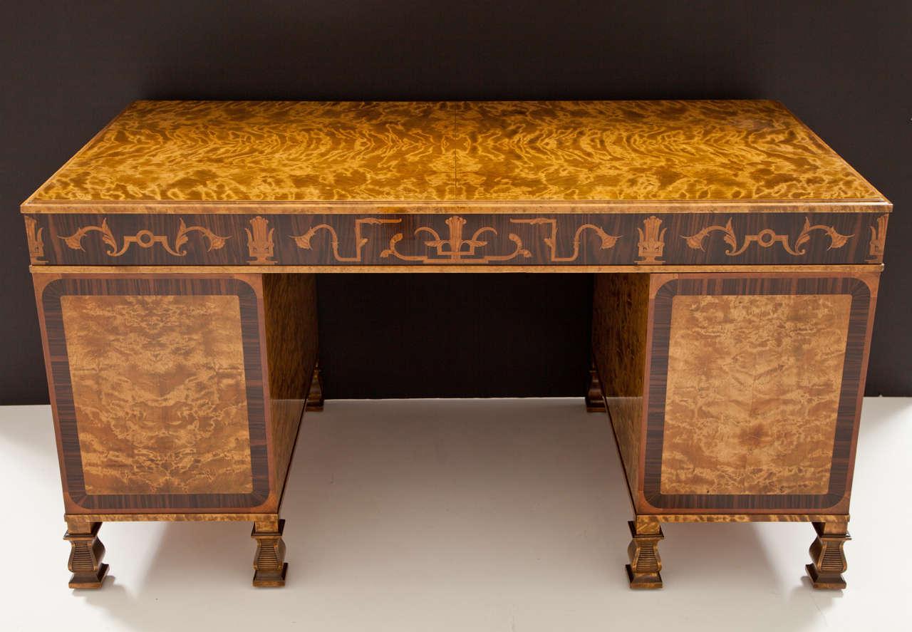 Carl Malmsten Pedestal Desk 9