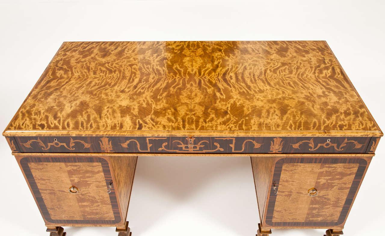 Carl Malmsten Pedestal Desk 10