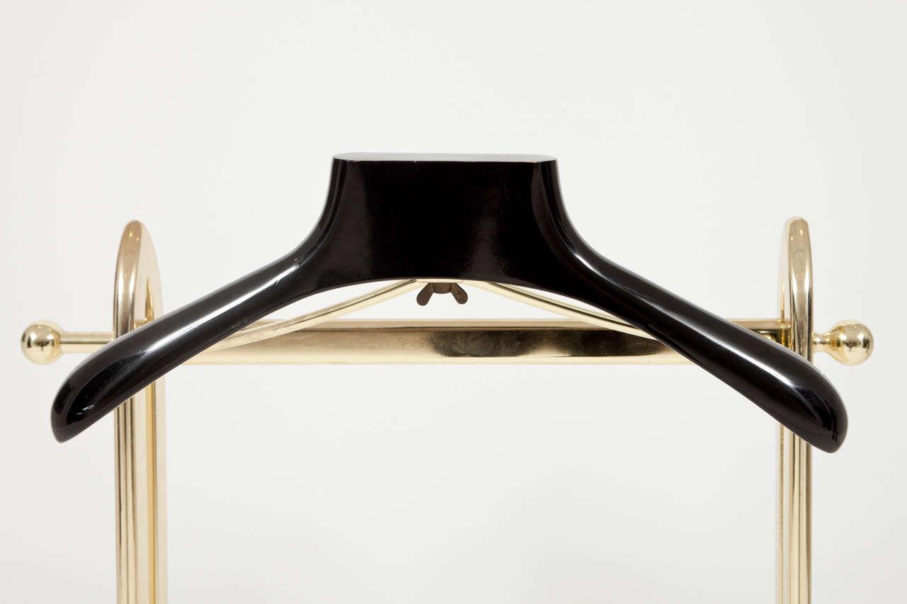 Italian Mid-Century Modern Brass Valet For Sale 6