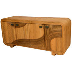 Reed Credenza in the Style of Gabriella Crespi