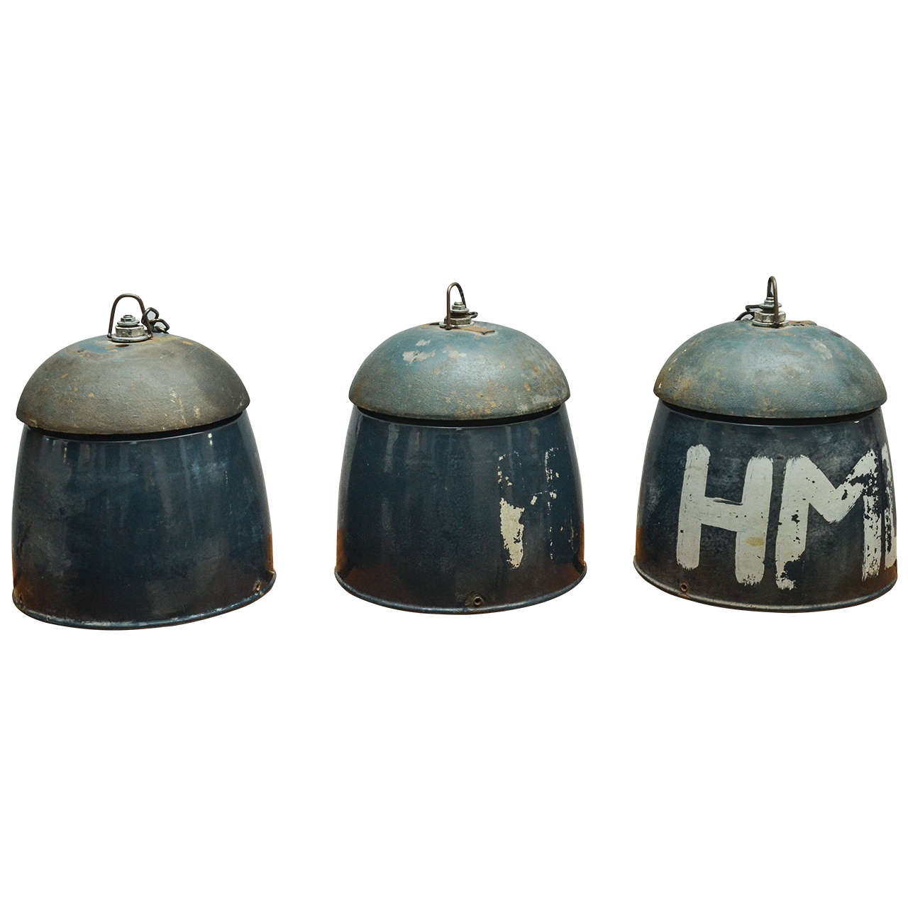 Industrial pendant lights at 1stdibs for Industrial bulb pendant