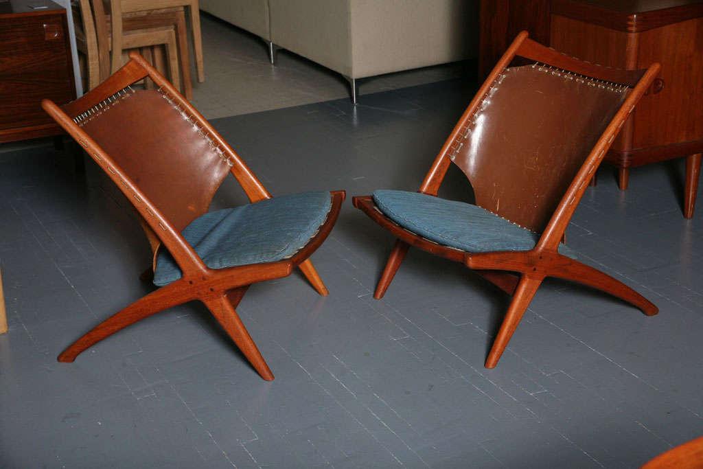 Scandinavian Design Chairs By Frederik Kayser At 1stdibs