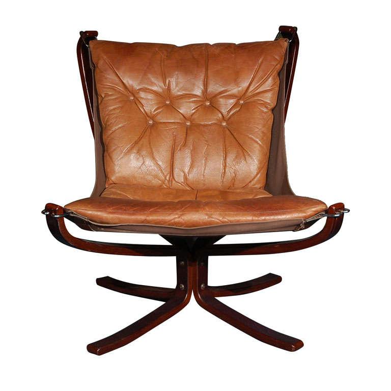 Danish falcon sling chair at 1stdibs