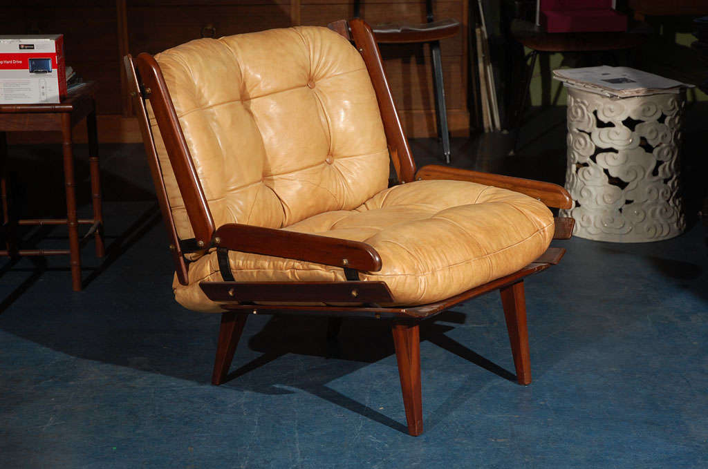 Brazilian Armchair In Good Condition For Sale In Los Angeles, CA