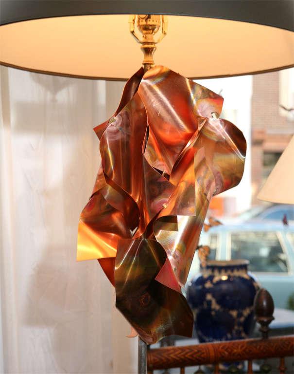 """""""Convolution"""" Sculpture Lamps By Lou Blass 3"""