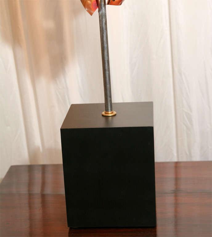 """""""Convolution"""" Sculpture Lamps By Lou Blass 4"""