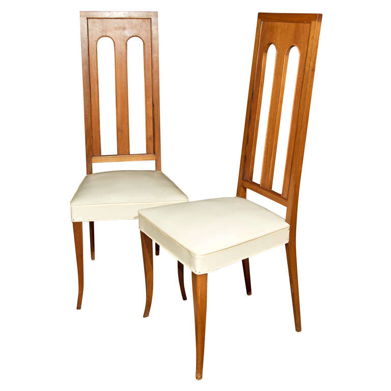 Set of eight italian post modern dining chairs at 1stdibs for Modern dining chairs india