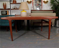 Danish Expandable Dining Table by Johannes Andersen image 4