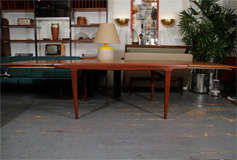 Danish Expandable Dining Table by Johannes Andersen image 9