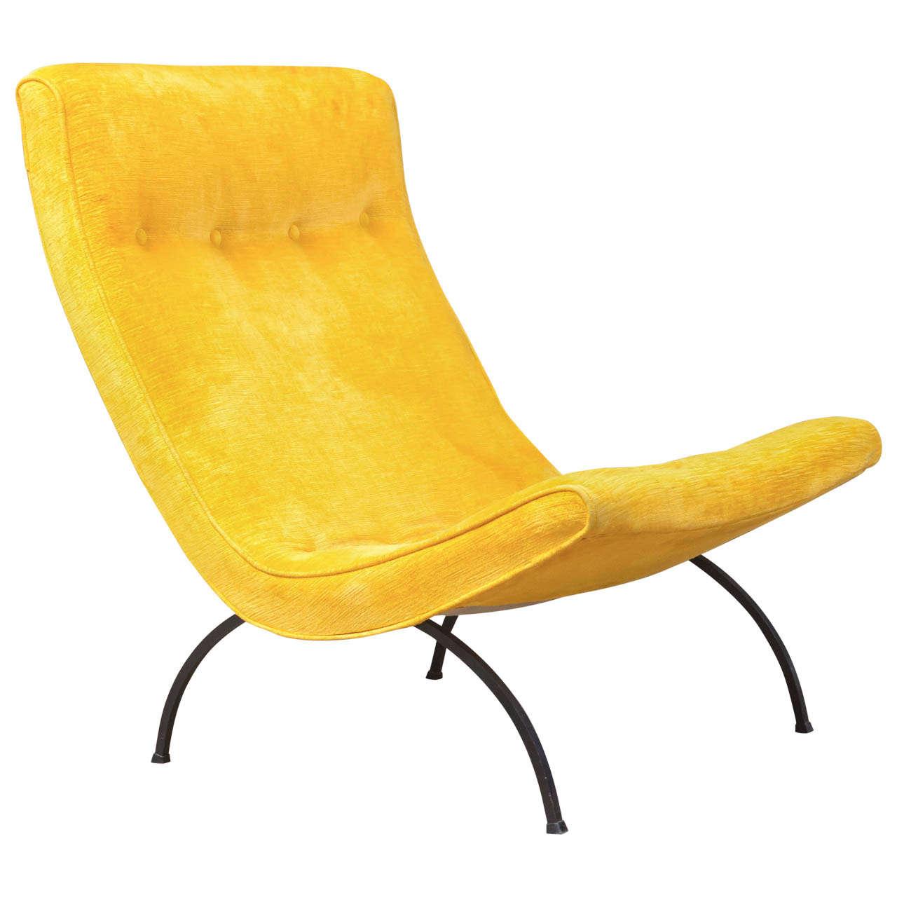Milo Baughman - Scoop Chair 1