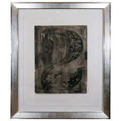Jasper Johns, Signed Lithograph