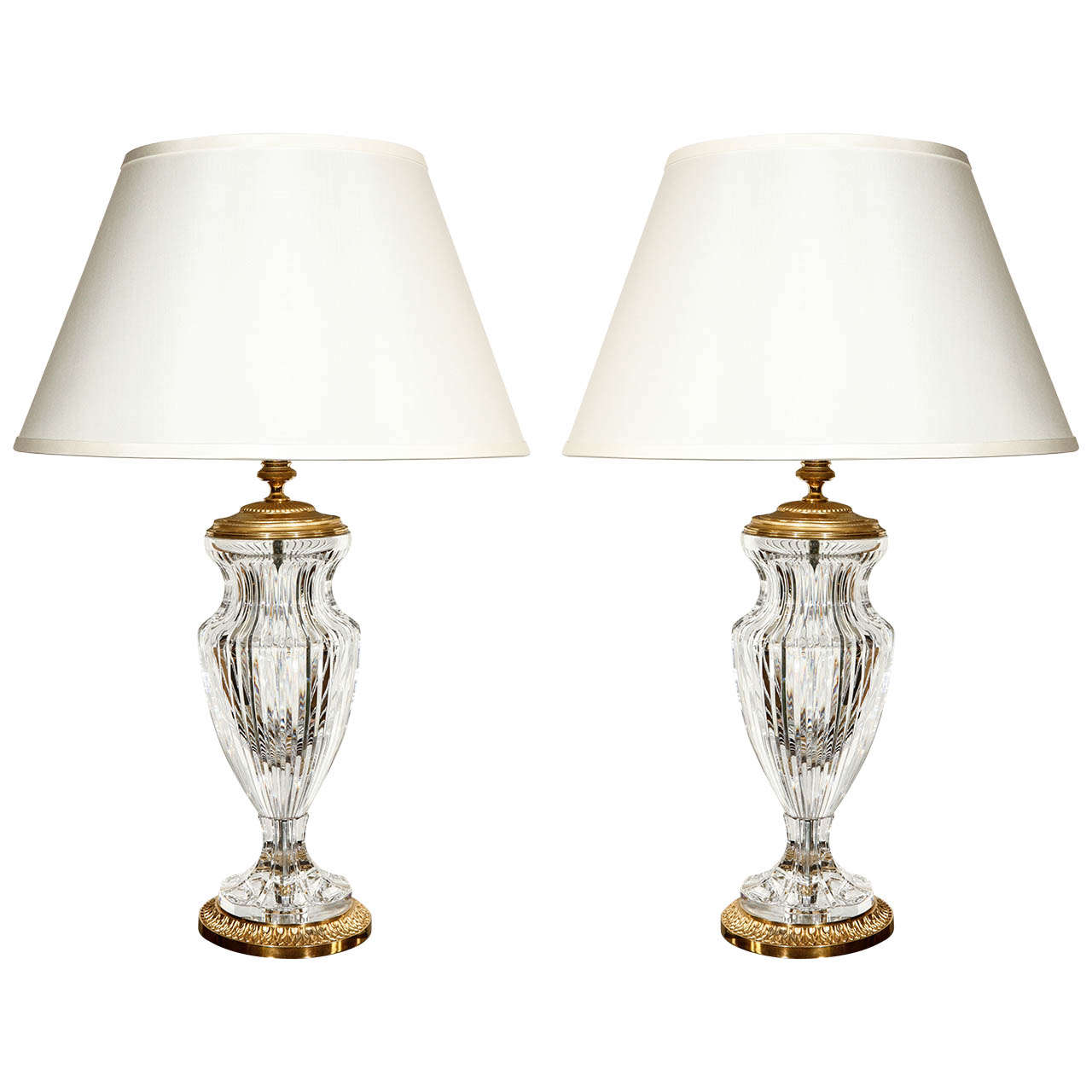 Cut Crystal Table Lamps For
