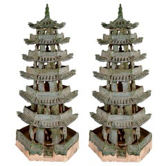 Republic Period Terracotta Pagodas