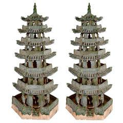 Republic Period Terracotta Pagodas
