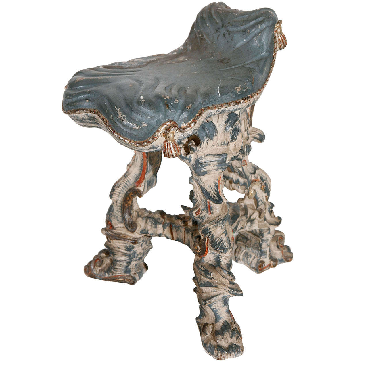 Exceptionnel 1930s Venetian Grotto Chair For Sale