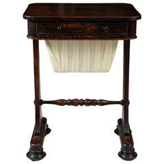 Regency Period Rosewood Grained Work Table
