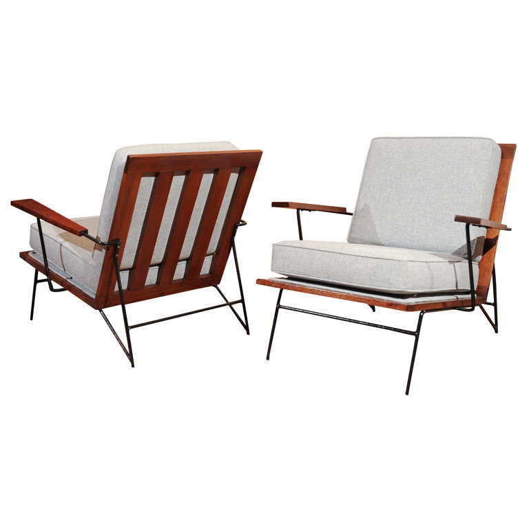 Ficks Reed Lounge Chairs at 1stdibs