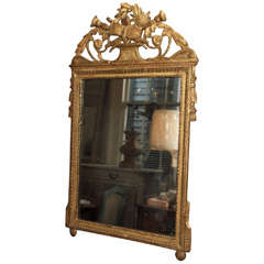 Period Louis XVI Gilt Mirror