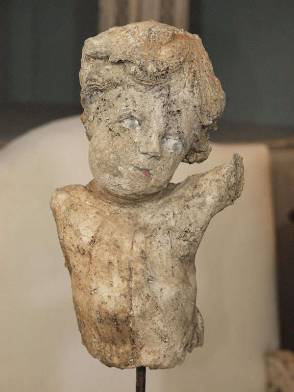 Paper mache 39 angel at 1stdibs for Paper mache objects