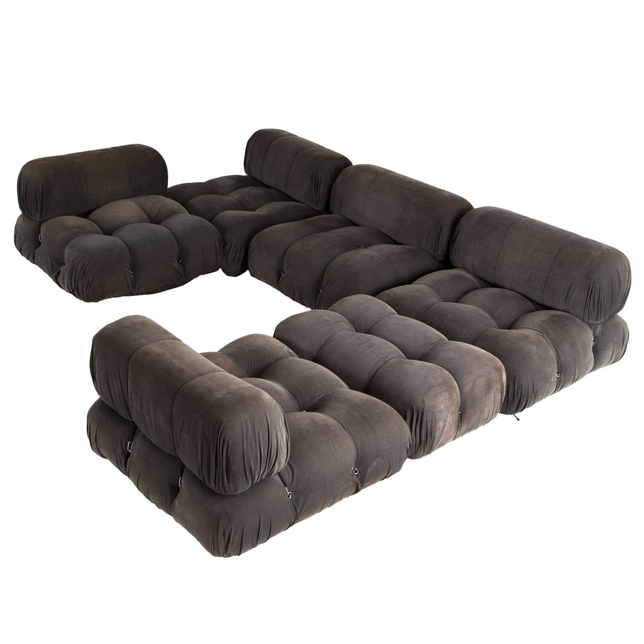 39 camaleonda 39 modular sofa by mario bellini at 1stdibs. Black Bedroom Furniture Sets. Home Design Ideas