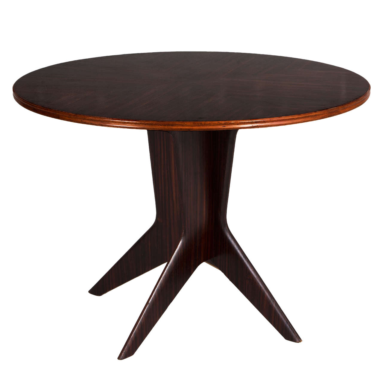 Elegant round italian dining table at 1stdibs for Fancy round dining table