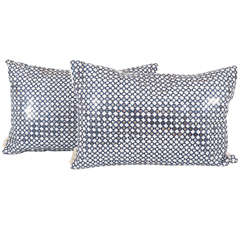 Pair of Sparkly Pillows