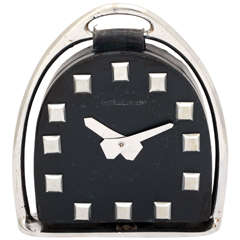 Jaeger-LeCoultre Stirrup Clock