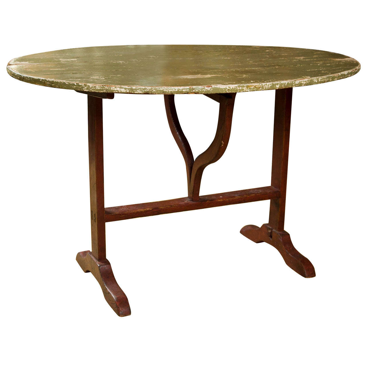 French Wine Tasting Table at 1stdibs