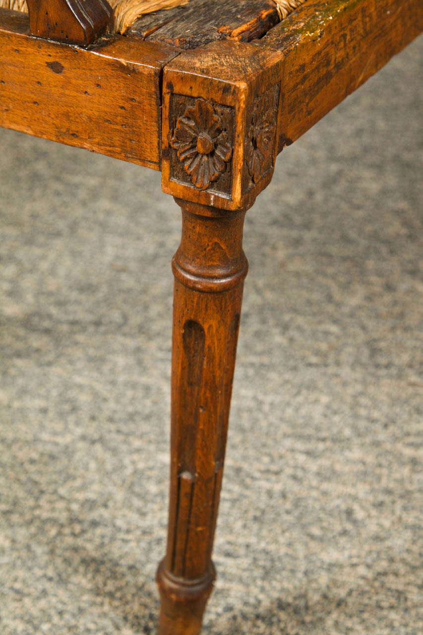 Carved Walnut Bench, Late 19th Century, Italy For Sale 3