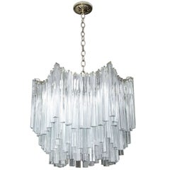 Six-Tier Venini Chandelier