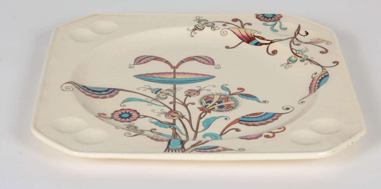 Christopher Dresser Dinner Plate Circa 1861 1886 At 1stdibs