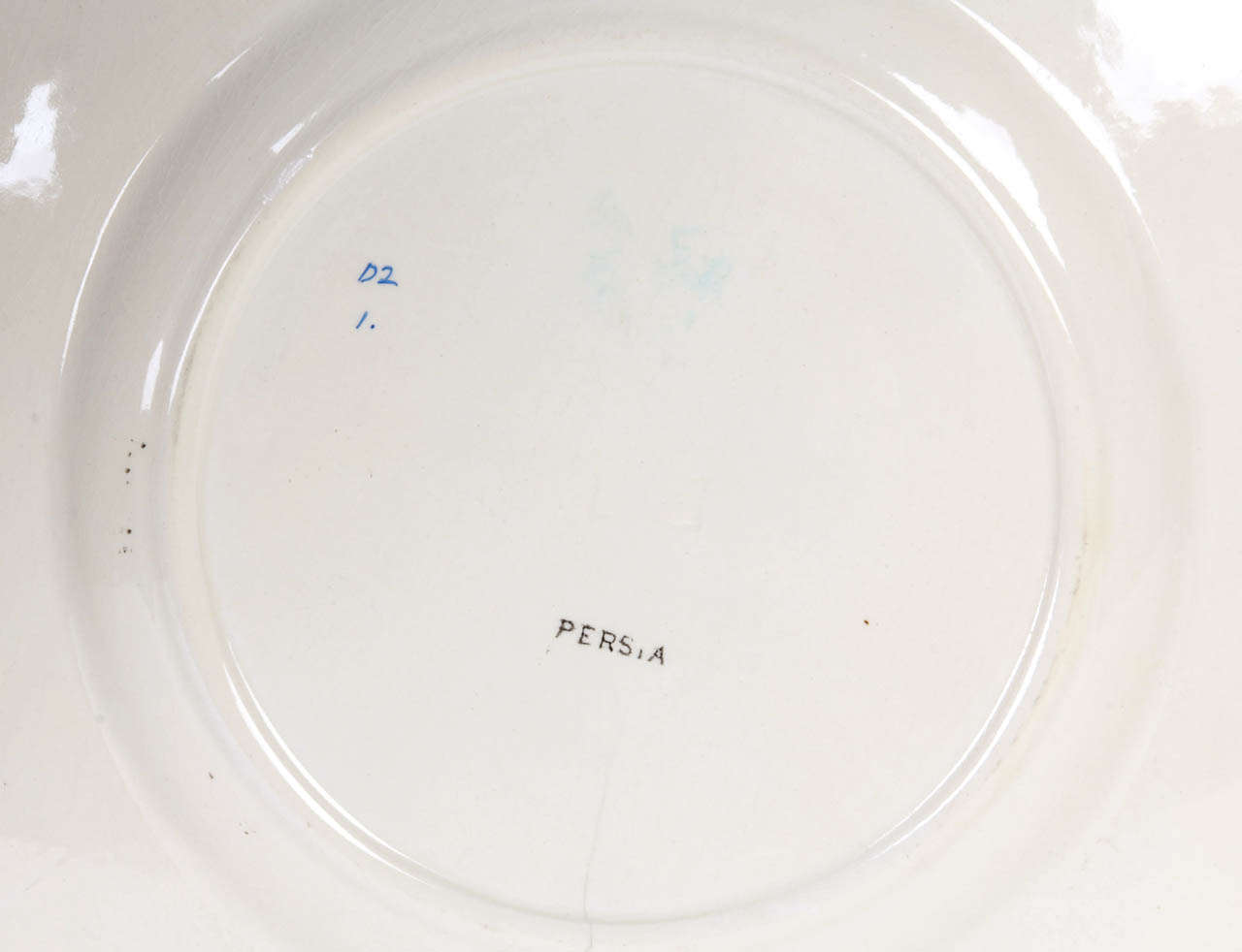 Christopher Dresser Dinner Plate Circa 1861 1886 At 1stdibs