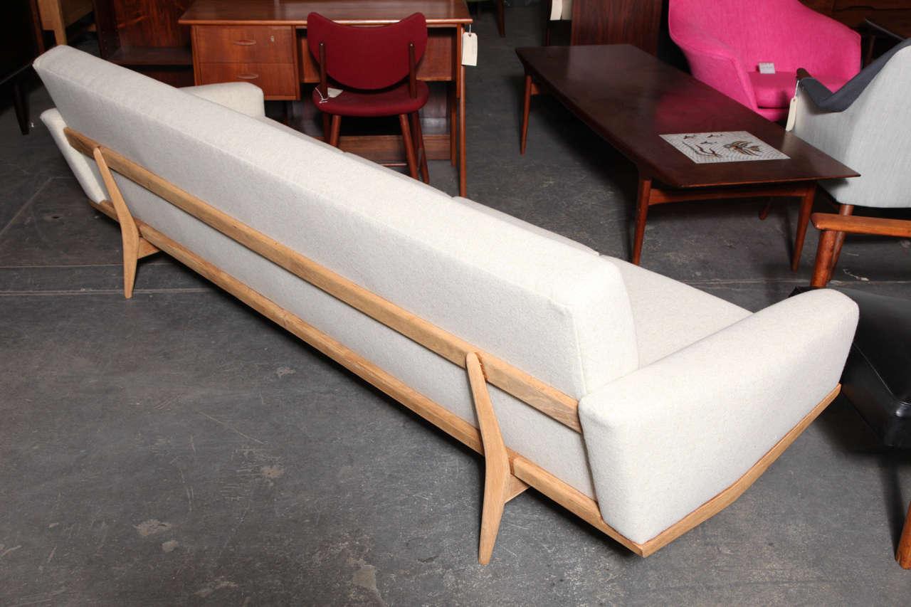 4 seater sofa by hw klein at 1stdibs. Black Bedroom Furniture Sets. Home Design Ideas