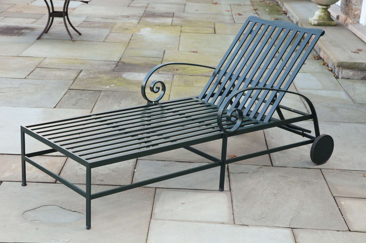 Handcrafted Of Powder Coated Aluminum By Mckinnon And Harris Virginia Eight Available