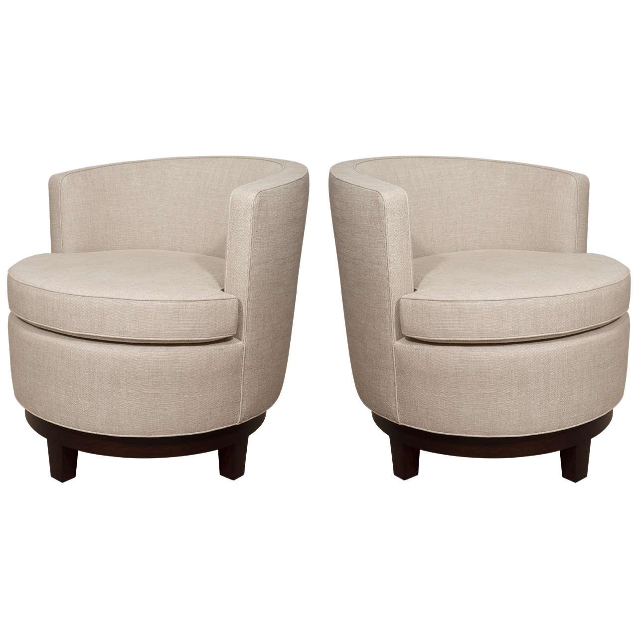 Swivel Chairs Living Room Upholstered Peenmedia Com