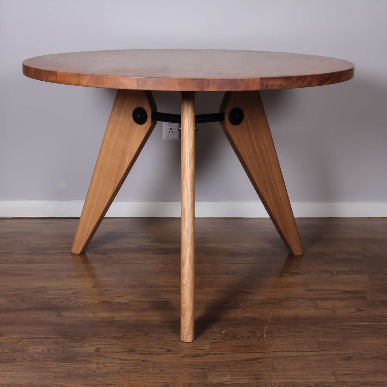 Jean Prouve Gueridon Dining Table Produced by Vitra at 1stdibs : B from www.1stdibs.com size 1280 x 1280 jpeg 87kB