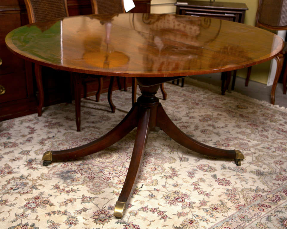 Baker Furniture Company Dining Table At 1stdibs