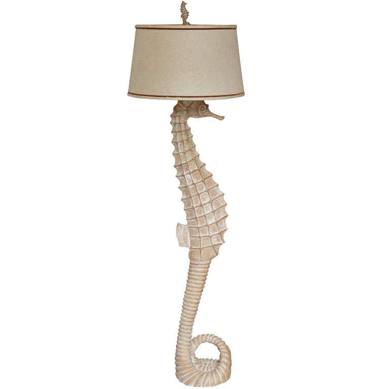 Quot Seahorse Floor Lamp Quot At 1stdibs