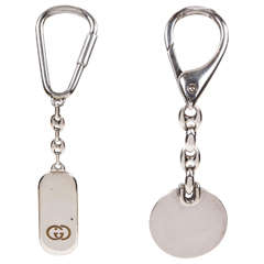 Sterling Silver Keychains by Gucci