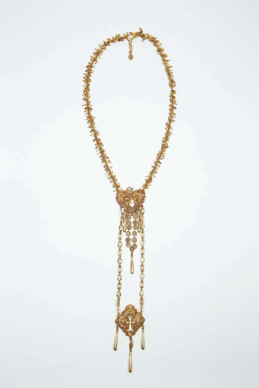 Christian Lacroix Necklace In Excellent Condition For Sale In Los Angeles, CA