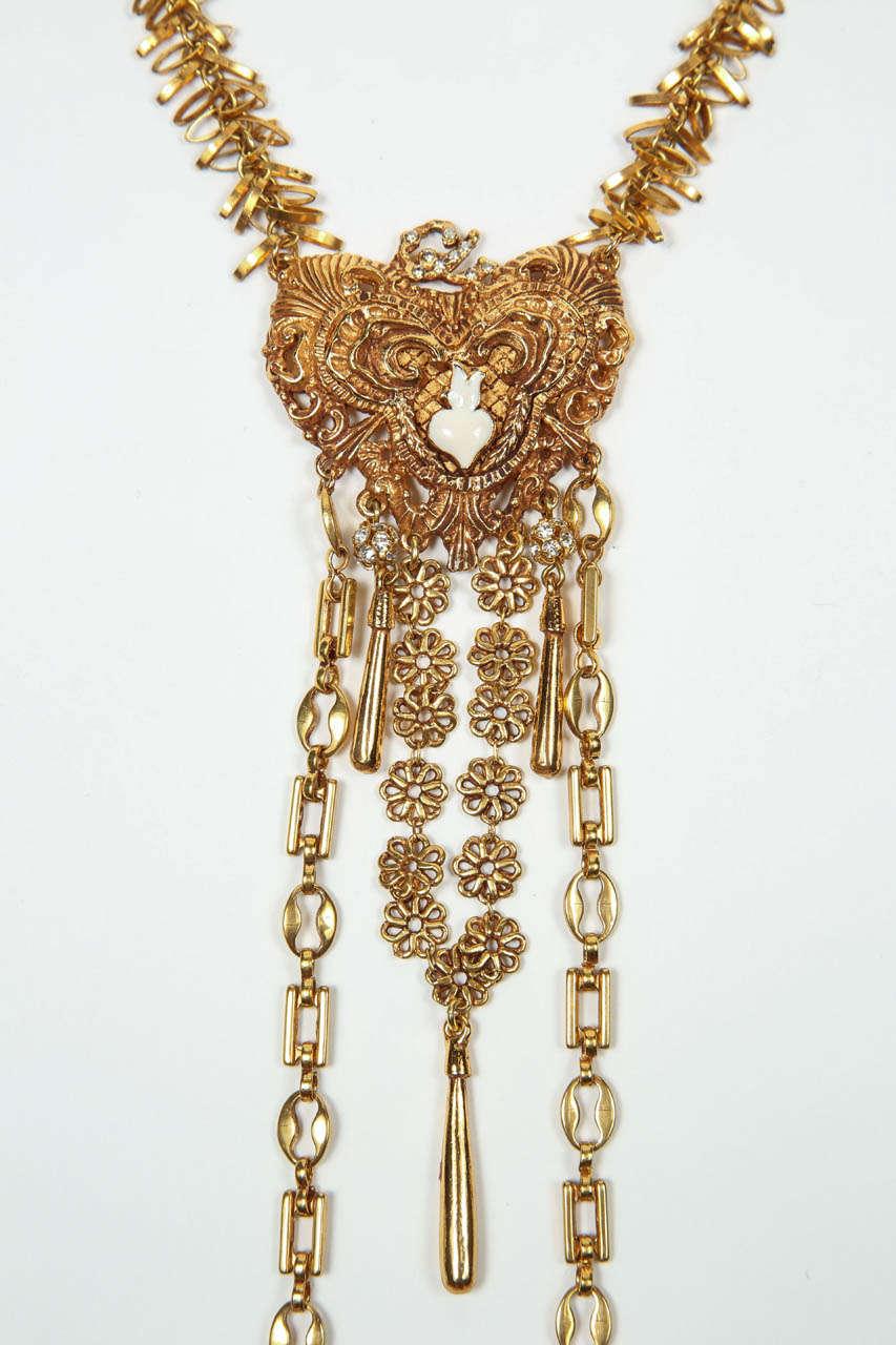 christian lacroix necklace for sale at 1stdibs. Black Bedroom Furniture Sets. Home Design Ideas