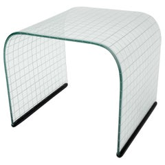 Fiam Tempered Glass Stool/Table