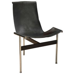 Katavolos Black Leather T-Chair