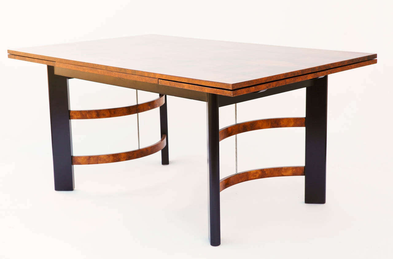 Hastings Art Deco Dining Table Chairs By Donald Deskey