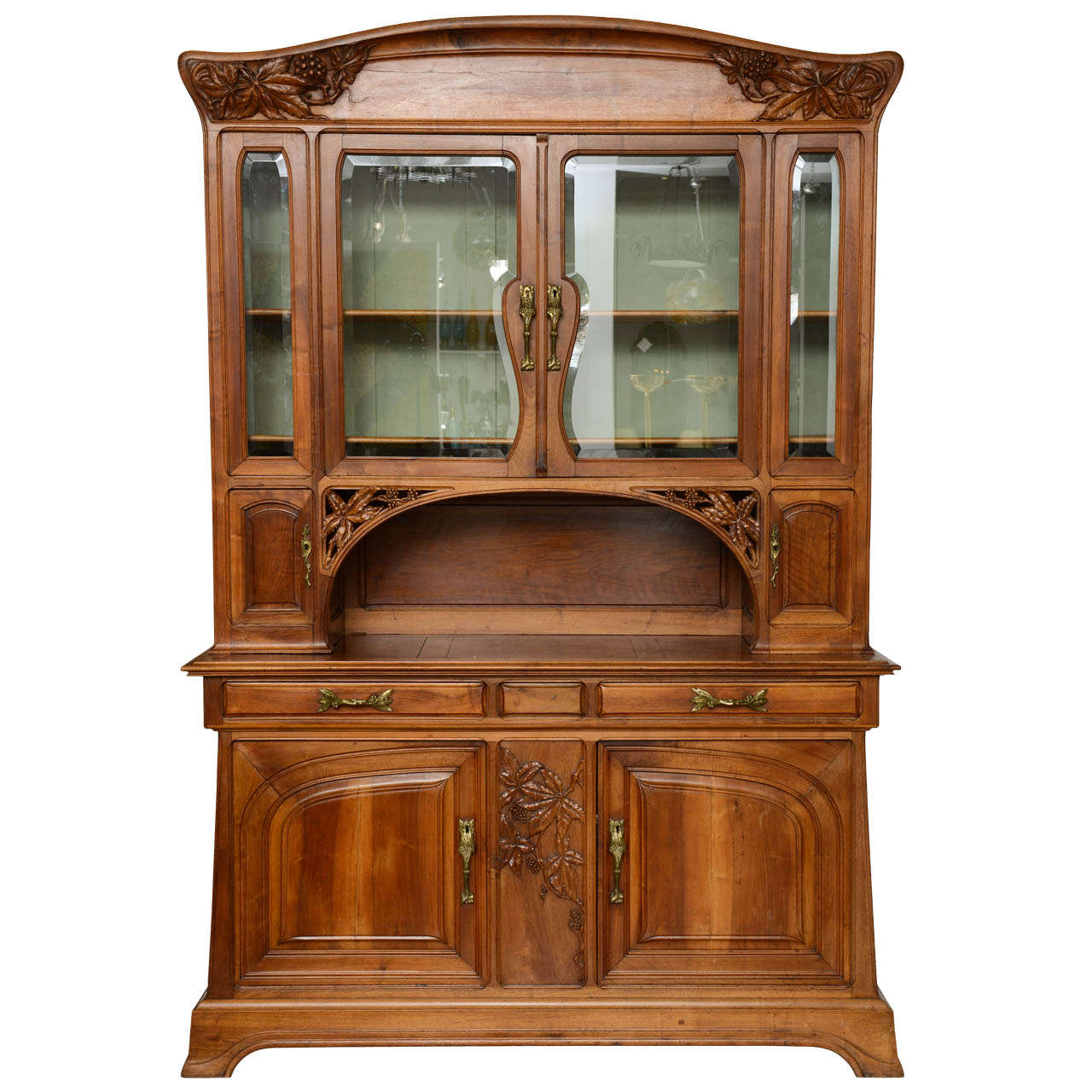 French Art Nouveau Cabinet At 1stdibs