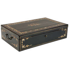 Large, 19th Century Chinoiserie Box
