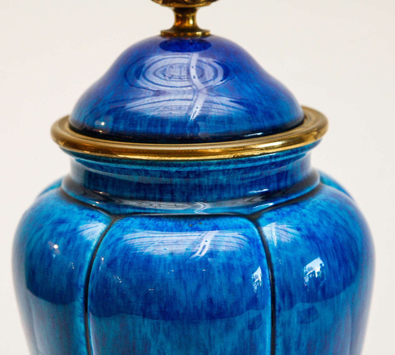 Striking, Sevres , Lidded Urns In Excellent Condition In Newport Beach, CA
