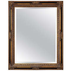 Neoclassical Rectangular Mirror in Empire Revival Style