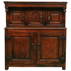 17th Century Court Cupboard in Oak