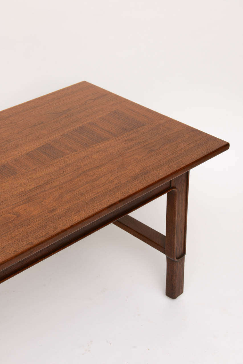 Mid-Century Modern John Stuart Janus Collection Long Board Coffee Cocktail Table For Sale
